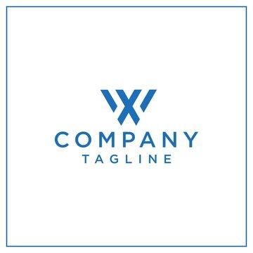 wx or xw triangle logo
