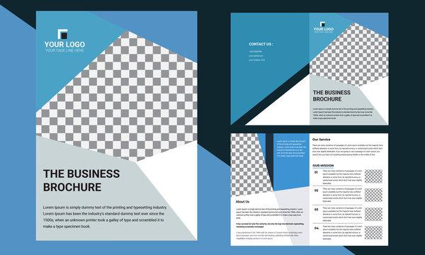 creative corporate business brochure template design