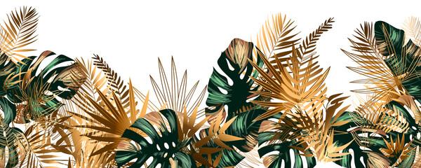 Naklejka premium Monstery w dżungli