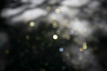 golden bokeh for backgrounds and compositions