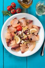 Carpaccio di pescespada, Cucina Italiana di Mare
