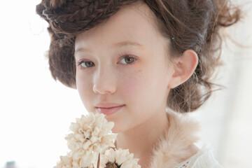 9歳の女の子