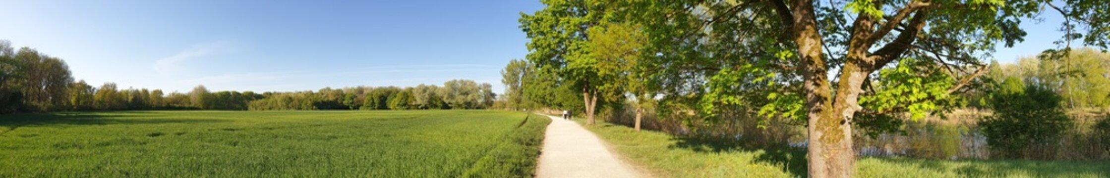 Naherholungsgebiet Mitterschütt Ingolstadt - Wandern und Radfahren