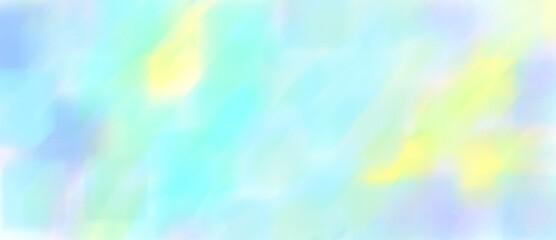 파란 바탕의 하늘 같은 그림 Fotobehang
