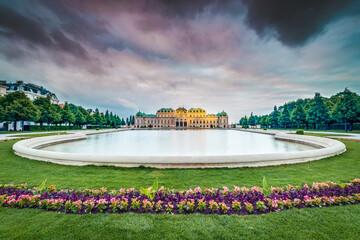 The Belvedere Palace inVienna,Austria.