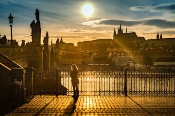 Cathedral of Saint Vitus in Prague, Czech Republic.