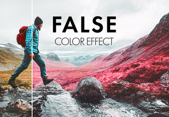 Fluorescent Color Manipulation Effect