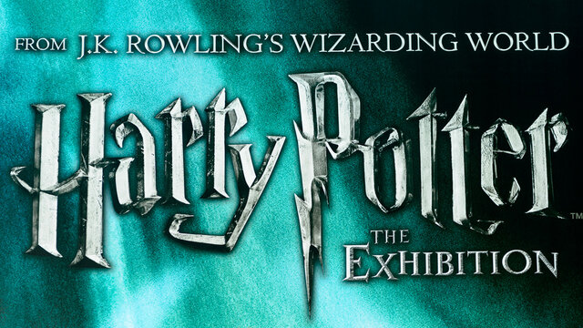 MADRID, SPAIN - NOV 22, 2017: Poster of the Wizarding world of Harry Poter experience in Madrid, Spain