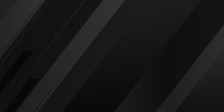 Modern black abstract presentation background. Vector illustration design for presentation, banner, cover, web, flyer, card, poster, wallpaper, texture, slide, magazine.