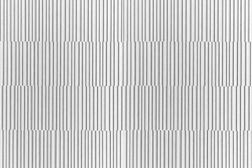 Modern white stone wall with stripes texture and seamless background