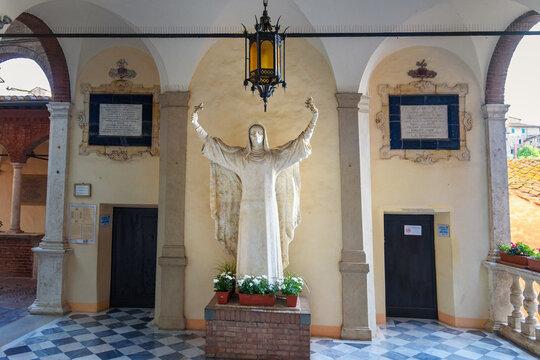 Santuario Casa di Santa Caterina, Church of Saint Catherine. Siena. Italy