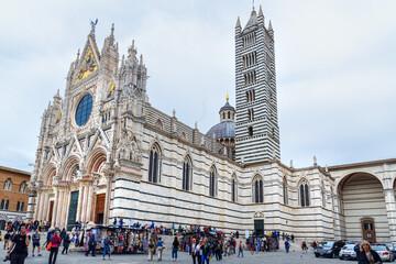 Siena Cathedral Santa Maria Assunta, Duomo di Siena. Italy
