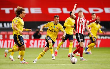 FA Cup - Quarter Final - Sheffield United v Arsenal