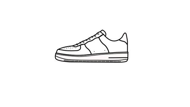 AF1 Sneaker vector