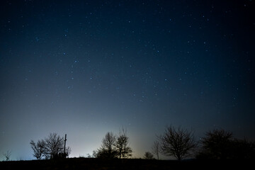 Astrophotography in Bavaria Fototapete