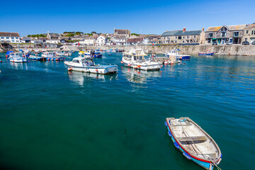 Summer at Porthleven Cornwall England UK Europe