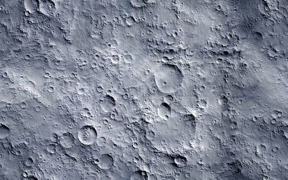 Moon surface. Seamless texture background.