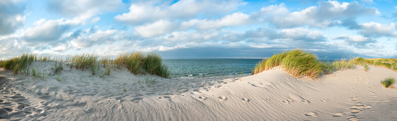 Dune beach at the North Sea coast, Sylt, Schleswig-Holstein, Germany