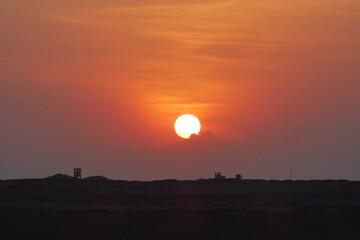 Ägyptischer Sonnenaufgang