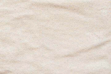 Obraz Canvas texture background of cotton burlap natural fabric cloth in old aged beige brown sepia for wallpaper and design backdrop - fototapety do salonu