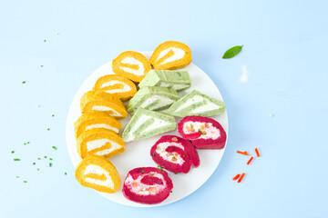 Gemüse-Rollen