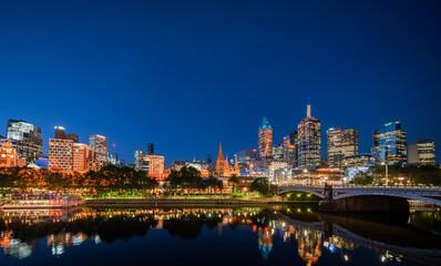 Fotomurales - Yarra River, Melbourne, Victoria, Australia