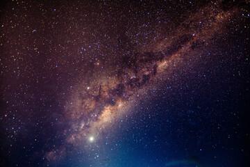 Fototapeta stary night with milky way in the Atacama desert in Chile #5 obraz