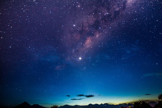 stary night with milky way in the Atacama desert in Chile #4