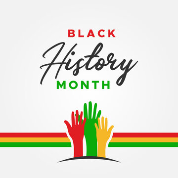 Black History Month Vector Design Illustration