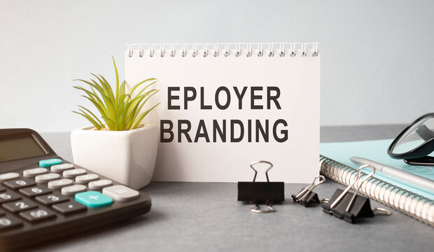 Text sign showing Employer Branding. Conceptual photo promoting company employer choice to desired target group Pens.