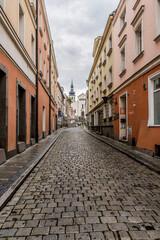 Fototapeta uliczki Starego Miasta w Opolu obraz