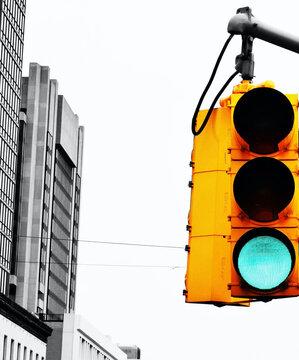 New York City Traffic Light