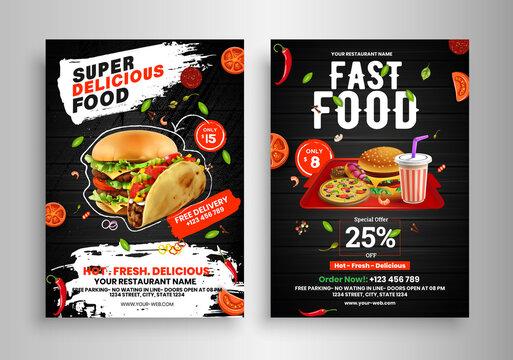 90 588 Best Food Flyer Images Stock Photos Vectors Adobe Stock