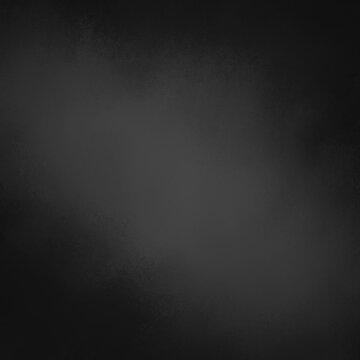 Black background with dark border with soft lighting and texture design, elegant old vintage distressed chalkboard background illustration