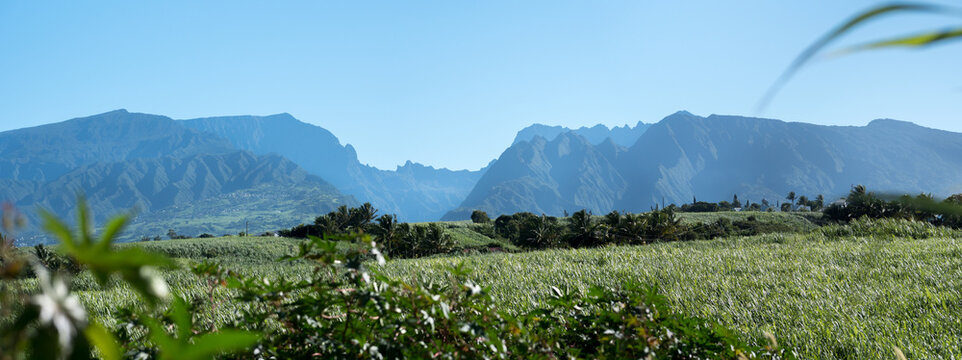 Vue du Sud de La Réunion