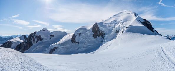Mont Blanc panorama 3