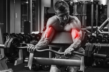 Specialization for biceps in a bodybuilding