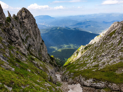 Romania, Bucegi Mountains, Malin Valley
