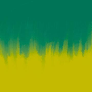 Yellow green tie dye texture background.