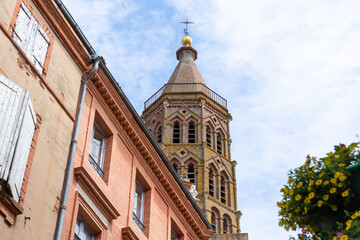 Ville de Montauban et église Saint-Jacques