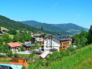 Austrian Alps-outlook on the Flachau