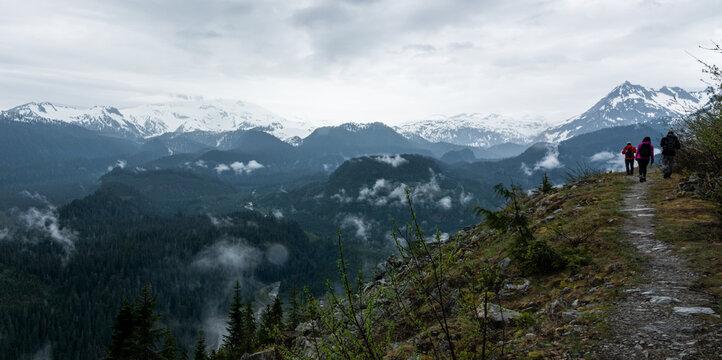 Mountain trail, British Columbia