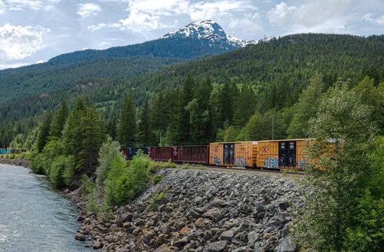 Railway in the wilderness