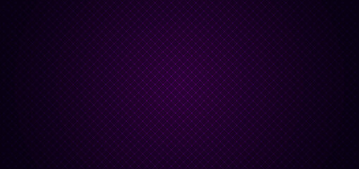 Fototapeta Abstract geometric squares pattern design with lines grid on dark purple background and texture