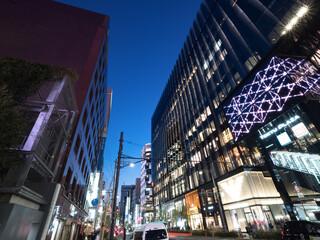 Fototapete - 東京都 東急プラザ銀座