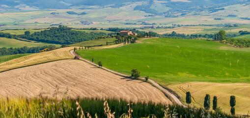 Wzgórza Toskanii