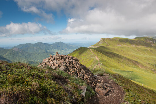 Randonnée au Puy Mary, volcan du Cantal