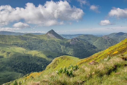 Randonnée dans les Monts du Cantal