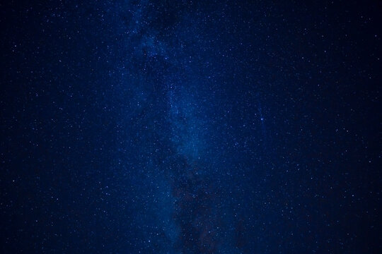 Milky Way Over Head In Night Sky Full Of Stars