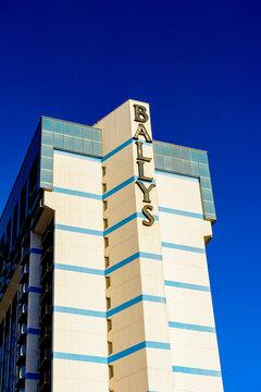 LAS VEGAS, USA - SEP 21, 2017: Bally's (MGM Grand), a hotel and casino, Las Vegas Strip in Paradise, Nevada